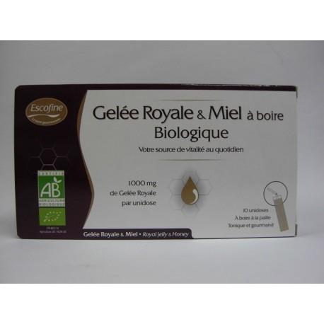 Pileje - Gelée Royale & Miel Biologique