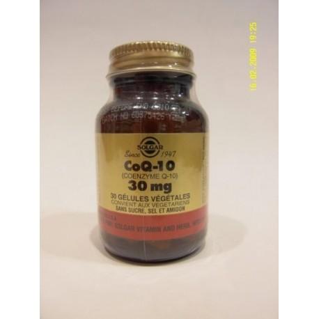 SOLGAR CoQ-10 (coenzyme Q-10) 30 mg