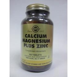 SOLGAR  Calcium, Magnésium plus Zinc