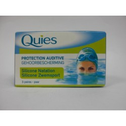QUIES - Protection auditive Silicone natation
