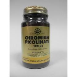 SOLGAR Chromium Picolinate (Trivalent fournissant)
