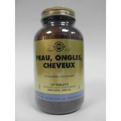 SOLGAR - Peau, ongles, cheveux (120 comprimés)