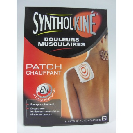 Syntholkiné Patchs chauffants Douleurs musculaires