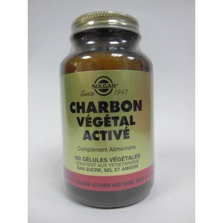 Solgar - Charbon Végétal Activé