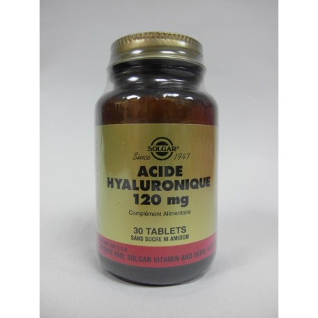 Solgar - Acide Hyaluronique 120 mg