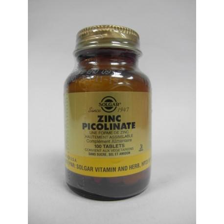 Solgar - Zinc Picolinate