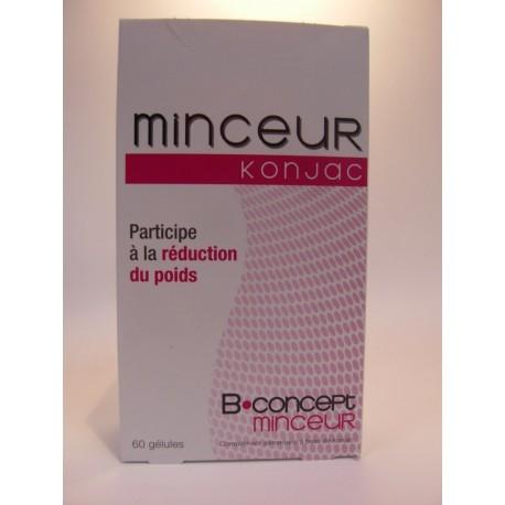 B.concept - Minceur Konjac Participe à la réduction du poids