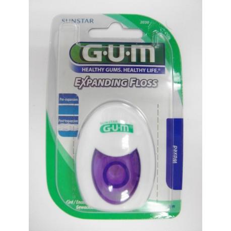 Butler - G-U-M Fil dentaire EXPANDING FLOSS (ciré)