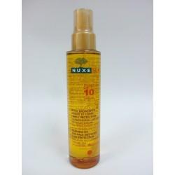 Nuxe Sun - Huile bronzante SPF10