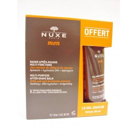 Nuxe Men - Baume après rasage + Gel douche offert