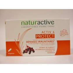 Naturactive - Activ 4 Protect Défenses immunitaires