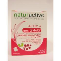Naturactive - Activ 4 Dès 3 ans Défenses immunitaires et Vitalité
