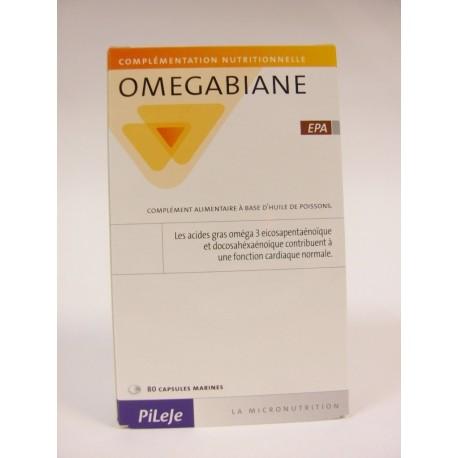 Pileje - Omegabiane EPA Fonction cardiaque normale