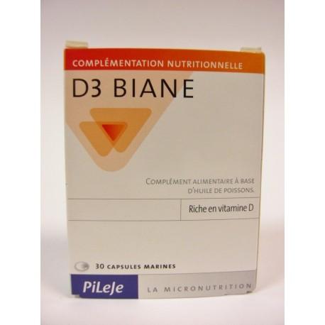 Pileje - D3 Biane riche en Vitamine D