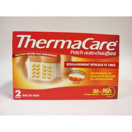 ThermaCare - Patch auto-chauffant Bas du dos (2 patchs)