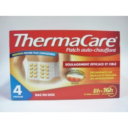 ThermaCare - Patch auto-chauffant Bas du dos (4 patchs)