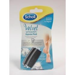 Scholl - Rouleaux de remplacement (2xGrain Exfoliant)