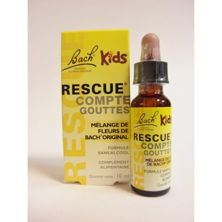 Bach - Rescue remedy Kids Compte-gouttes