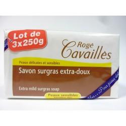 Rogé Cavaillès - Savon surgras extra doux ( Lot de 3x250g)