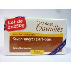 Rogé Cavaillès - Savon surgras extra doux ( Lot de 2x250g)