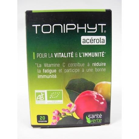 santé verte - TONIPHYT acérola . Pour la vitalité et l'immunité