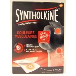 Syntholkiné - Patch chauffant Douleurs musculaires Action ciblée : dos, nuque, épaules
