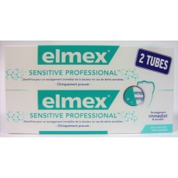 elmex - Dentifrice Sensitive Professional (2x75 ml)
