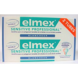 elmex - Dentifrice Sensitive Professional Blancheur (lot de 2)