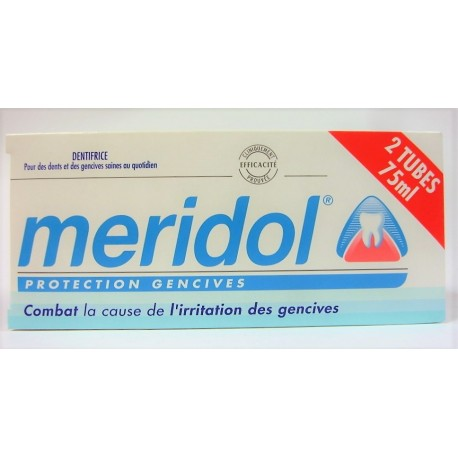 meridol - Dentifrice Protection gencives (Lot de 2 tubes)