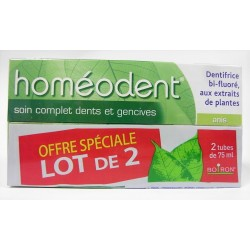 Homéodent - Soin complet dents et gencives (2x75 ml)