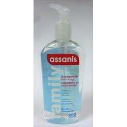 assanis - Gel antibactérien sans rinçage (250 ml)