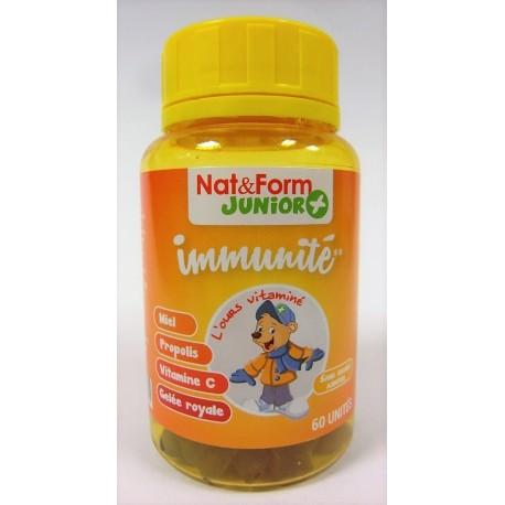 """Nat & Form Junior+ - Immunité """"L'ours vitaminé"""""""