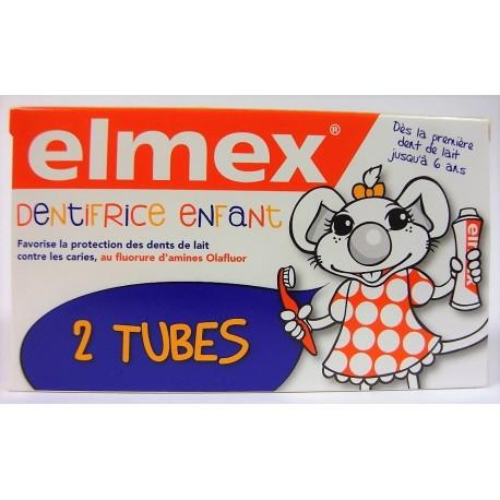 elmex - Dentifrice enfant (lot de 2)