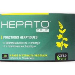 Santé verte - HEPATO CALM Fonctions hépatiques