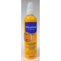 Mustela - Lait solaire très haute protection 50+ (Spray 300ml)