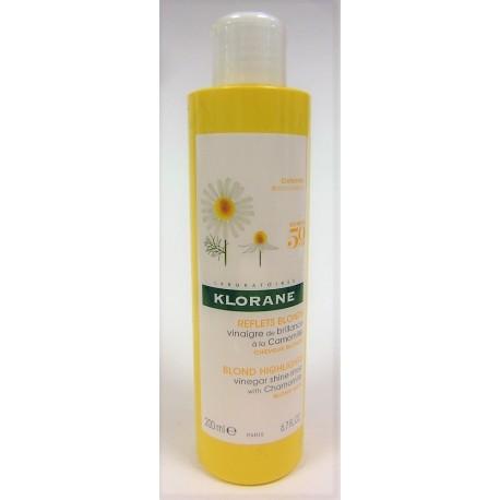 Klorane - Vinaigre de brillance à la Camomille Reflets blonds