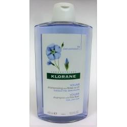 Klorane - Shampooing aux fibres de Lin . Volume (400 ml)
