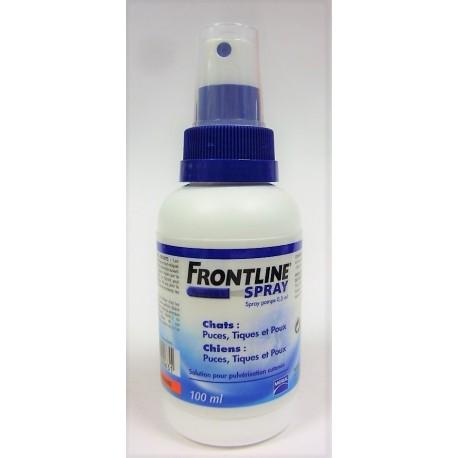 FRONTLINE - Spray Solution pour pulvérisation cutanée Chats et chiens (100 ml)