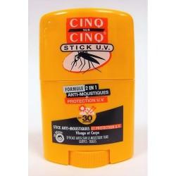 Cinq sur Cinq - Stick Anti-Moustiques et Protection U.V.