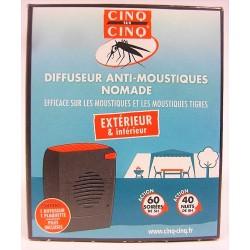 Cinq sur cinq - Diffuseur Anti-moustiques nomade
