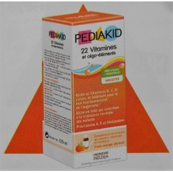 PEDIAKID - 22 Vitamines et oligo-éléments (125 ml)