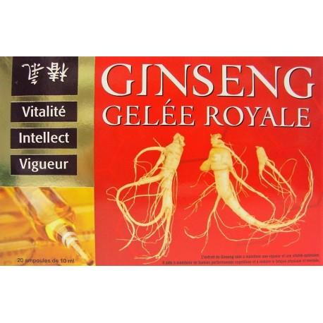 INELDEA - Ginseng Gelée royale . Vitalité - Intellect - Vigueur