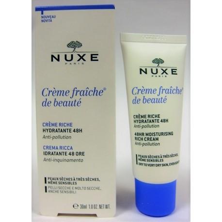 Nuxe - Crème Fraîche de Beauté Crème Riche Hydratante (30 ml)