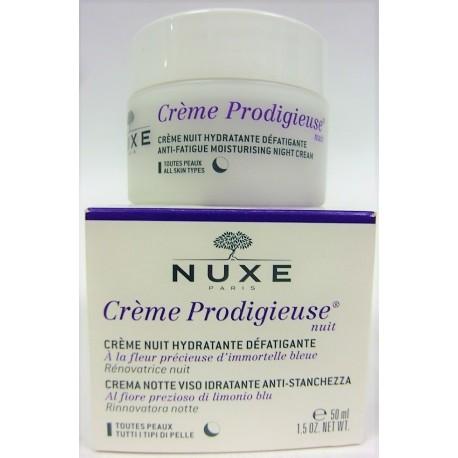 Nuxe - Crème Prodigieuse Nuit Hydratante Défatigante