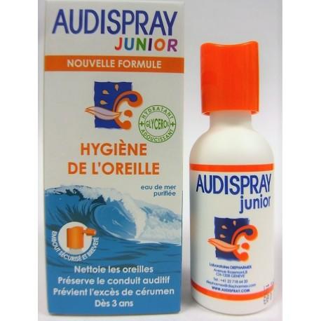 AUDISPRAY JUNIOR - Hygiène de l'oreille