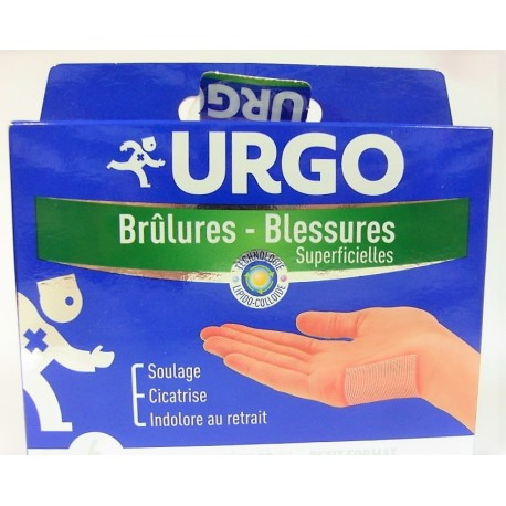Urgo - Brûlures - Blessures superficielles