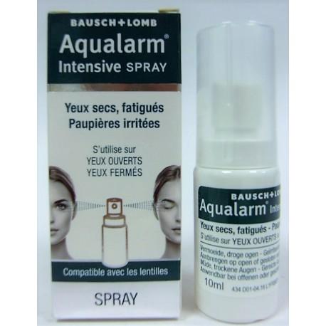 Aqualarm - Intensive Spray . Yeux secs, fatigués . Paupières irritées