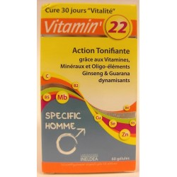 INELDEA - Vitamin'22 Action tonifiante Specific Homme