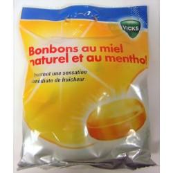 Vicks - Bonbons au miel naturel et au menthol