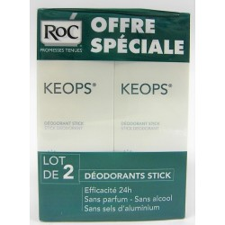 Roc - Keops - Déodorants Stick (lot de 2)